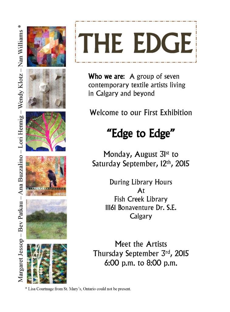 Edge to Edge Exhibit