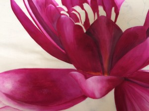 Water Lily - Painted Detail