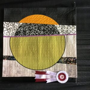 Circular Thinking by Terry Aske - Won 1st Place in Art Abstract Wall Quilts