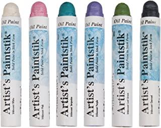 Set of 6 Iridescent Paintstiks