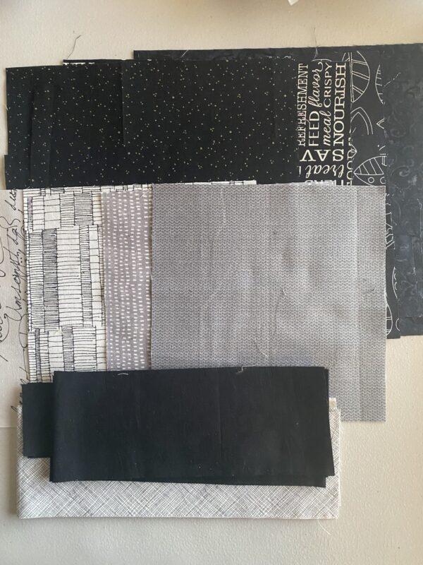 Fabric kit NYB pillow