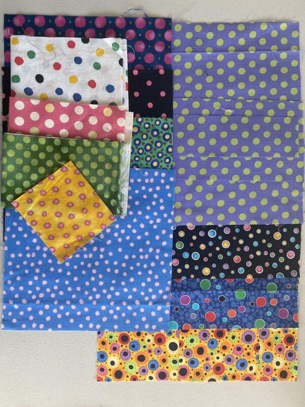 NYB Pillow kit polka dots